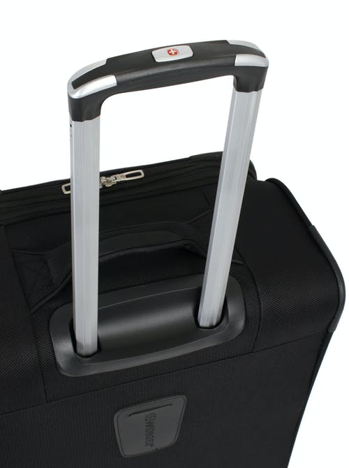"SWISSGEAR 7362 24"" EXPANDABLE LITEWEIGHT SPINNER LUGGAGE ALUMINUM TELESCOPING LOCKING HANDLE"