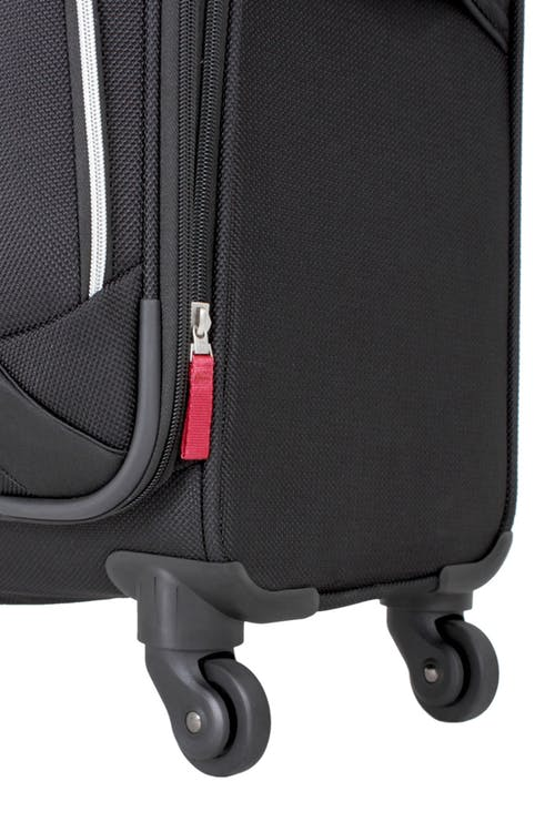 "SWISSGEAR 7362 24"" EXPANDABLE LITEWEIGHT SPINNER LUGGAGE 360 DEGREE SPINNER WHEELS"
