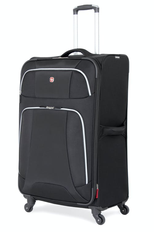 "SWISSGEAR 7362 29"" LITEWEIGHT SPINNER LUGGAGE - BLACK"