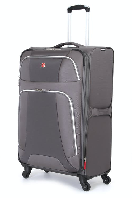 "SWISSGEAR 7362 29"" LITEWEIGHT SPINNER LUGGAGE - GREY"