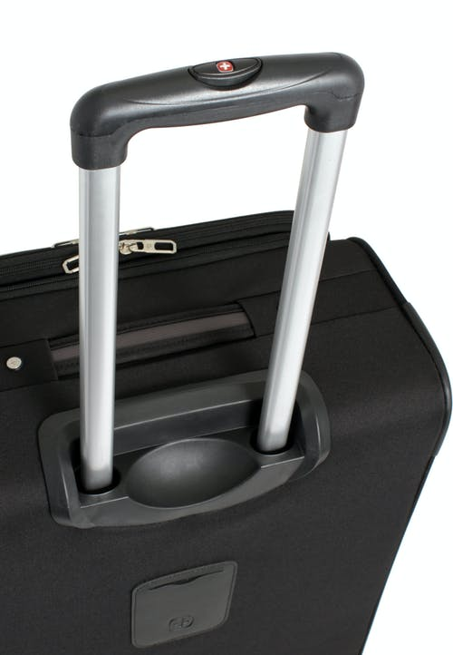 """SWISSGEAR 7377 20"""" EXPANDABLE CARRY-ON SPINNER LUGGAGE ALUMINUM TELESCOPIC PULL HANDLE"""