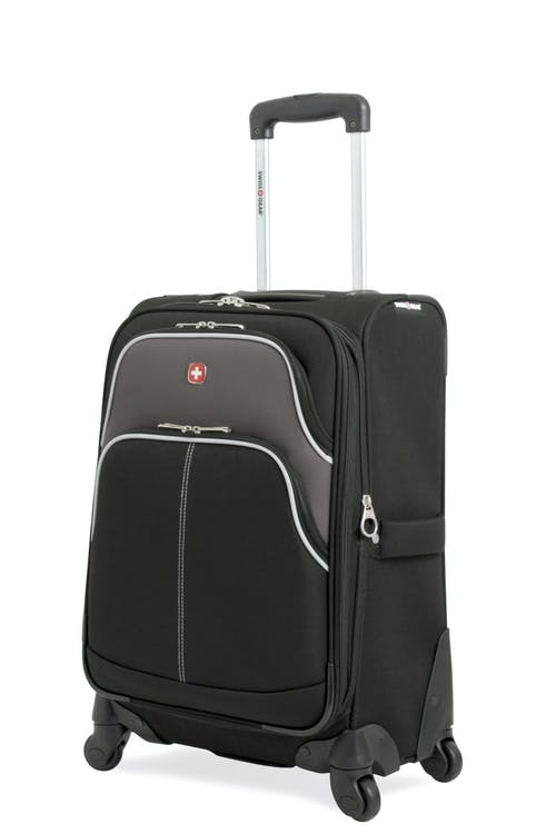 "Swissgear 7377 20"" Expandable Carry-On Spinner Luggage"