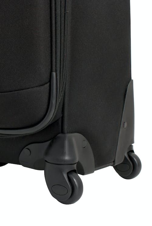 "SWISSGEAR 7377 24"" EXPANDABLE SPINNER LUGGAGE 360 DEGREE MULTI-DIRECTIONAL SPINNER WHEELS"