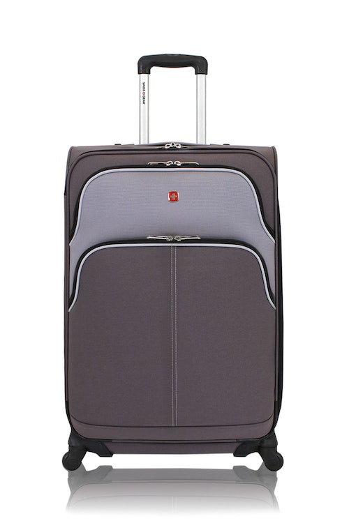 "SWISSGEAR 28"" EXPANDABLE CARRY-ON SPINNER LUGGAGE"