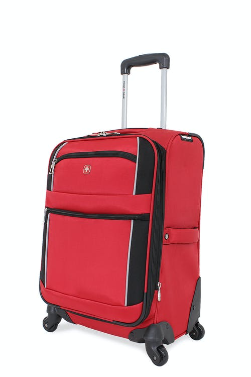 "Swissgear 7378 20"" Expandable Carry-On Spinner Luggage"