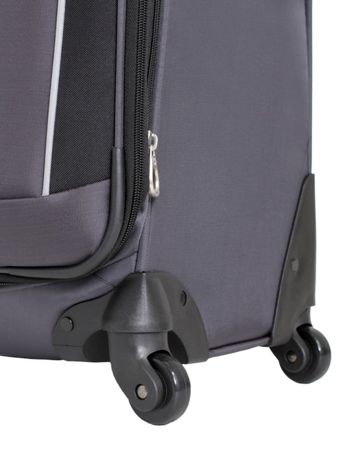 "SWISSGEAR 24"" EXPANDABLE SPINNER LUGGAGE 360 DEGREE SPINNER WHEELS"