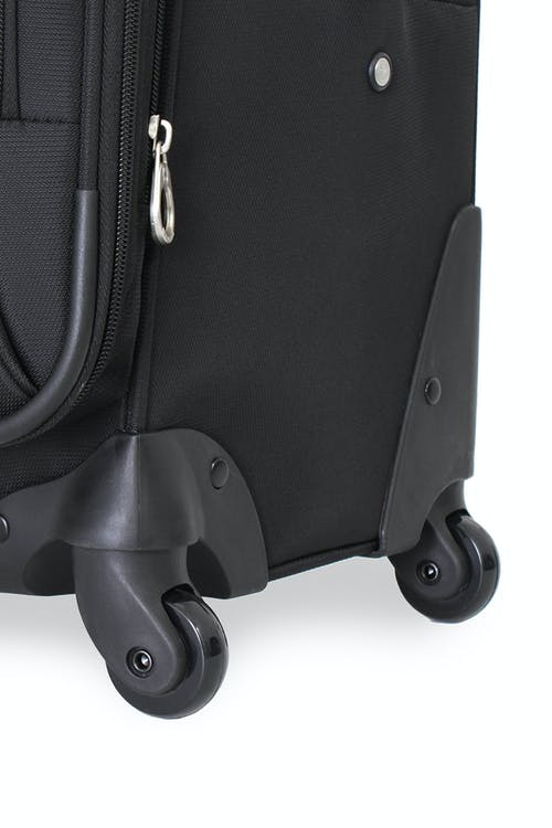 "SWISSGEAR 7387 20"" EXPANDABLE SPINNER LUGGAGE 360 DEGREE, MULTI-DIRECTIONAL LITEWEIGHT SPINNER WHEELS"