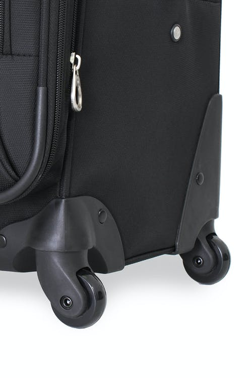SWISSGEAR 7387 EXPANDABLE SPINNER LUGGAGE 360 DEGREE, MULTI-DIRECTIONAL LITEWEIGHT SPINNER WHEELS