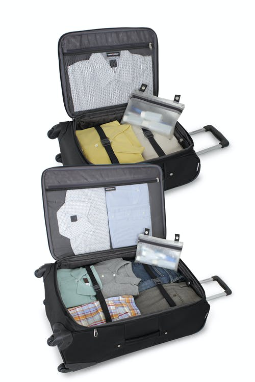 """SWISSGEAR 7387 19"""" and 24"""" EXPANDABLE SPINNER LUGGAGE"""