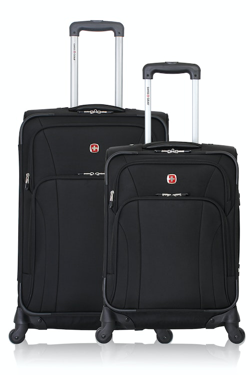 SWISSGEAR 7387 Expandable Spinner Luggage 2pc Set