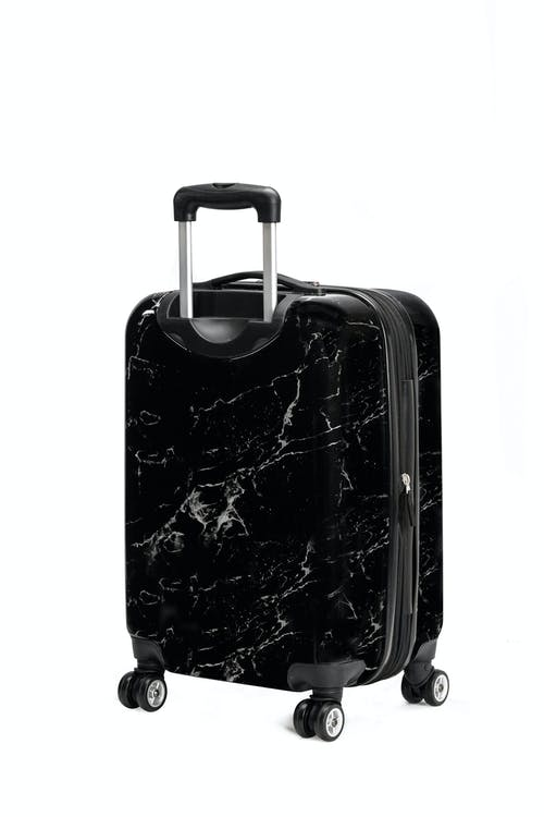 "Swissgear 7579 Marble 20"" Expandable Hardside Carry-On ABS Material"