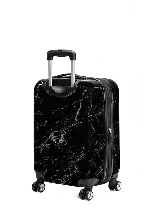 "Swissgear 7579 Marble 20"" Expandable Hardside Carry-On Luggage ABS Material"