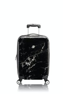 "Swissgear 7579 Marble 20"" Expandable Hardside Carry-On Luggage - Black"