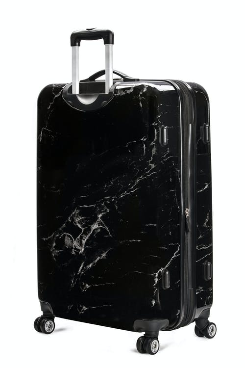 "Swissgear 7579 Marble 28"" Expandable Hardside Luggage Non-slip side feet"