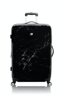 "Swissgear 7579 Marble 28"" Expandable Hardside Luggage - Black"