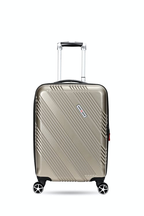 "Swissgear 7788 20"" Expandable Hardside Spinner Luggage Front view"
