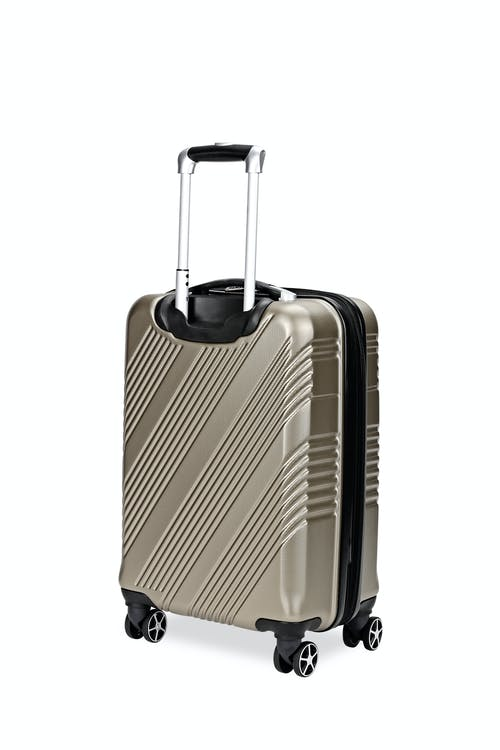 "Swissgear 7788 20"" Expandable Hardside Spinner Luggage Expands for additional interior space"