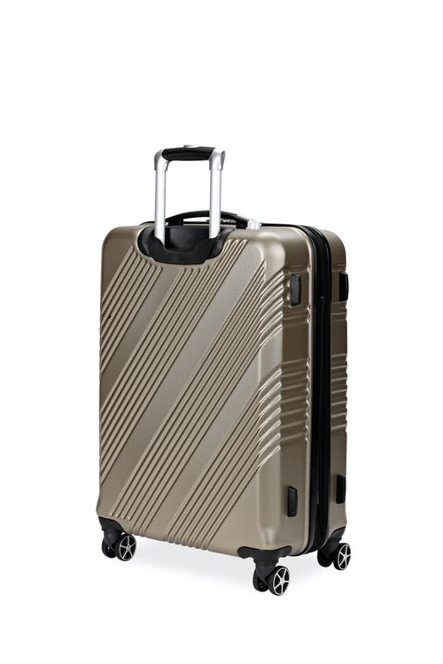 "Swissgear 7788 24"" Expandable Hardside Spinner Luggage Non-slip side feet"