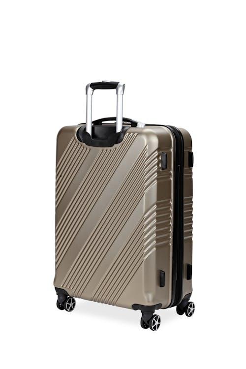"Swissgear 7788 Expandable Hardside 24"" Spinner Luggage Non-slip side feet"