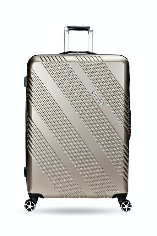 "Swissgear 7788 Expandable Hardside 28"" Spinner Luggage Non-slip side feet"