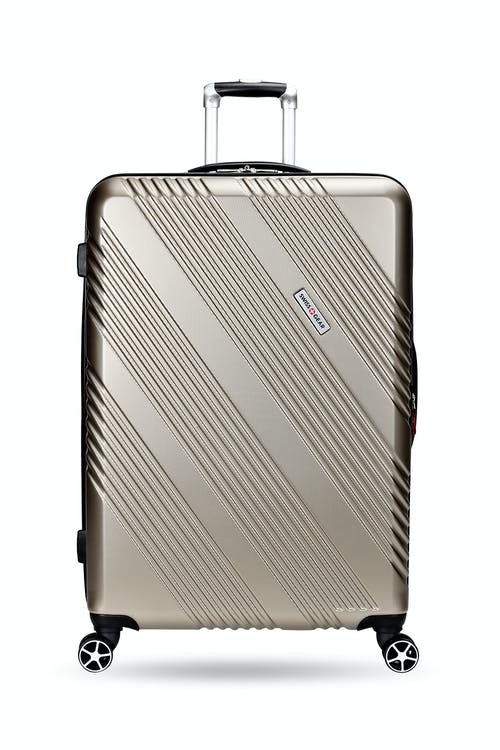 "Swissgear 7788 28"" Expandable Hardside Spinner Luggage Non-slip side feet"