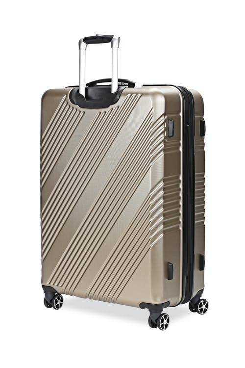"Swissgear 7788 Expandable Hardside 28"" Spinner Luggage Expands for additional interior space"