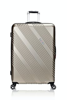 "Swissgear 7788 28"" Expandable Hardside Spinner Luggage - Champagne"