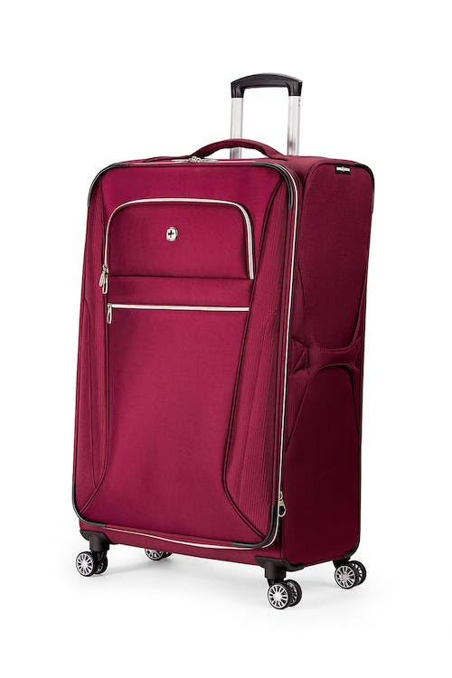 "Swissgear 7850 Checklite 29"" Expandable Liteweight Upright Luggage - Burgundy Velvet"