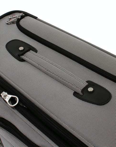 """SWISSGEAR 7895 19.5"""" EXPANDABLE DELUXE CARRY-ON SPINNER REINFORCED, PADDED TOP & LAY FLAT SIDE HANDLES"""