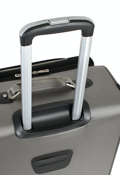 """SWISSGEAR 7895 19.5"""" EXPANDABLE DELUXE CARRY-ON SPINNER ALUMINUM LOCKING PULL HANDLE"""
