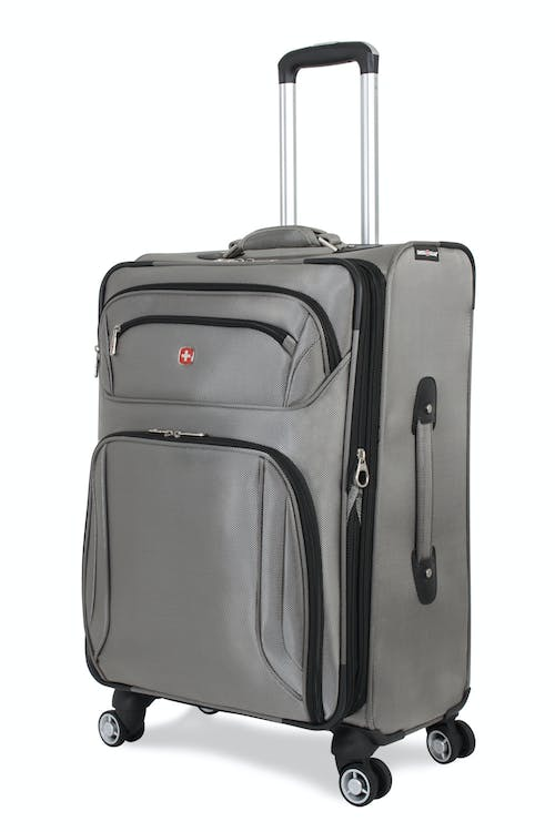 "Swissgear 7895 24"" Zurich Expandable Deluxe Spinner Luggage - Pewter"