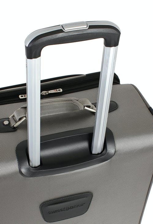 "SWISSGEAR 7895 24"" EXPANDABLE DELUXE SPINNER LUGGAGE ALUMINUM LOCKING PULL HANDLE"