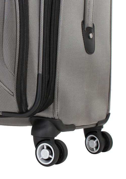 "SWISSGEAR 7895 24"" EXPANDABLE DELUXE SPINNER LUGGAGE 360 DEGREE MULTI-DIRECTIONAL SPINNER WHEELS"