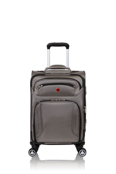 "Swissgear 7895 19"" Zurich Expandable Laptop Carry On Spinner Luggage - Pewter"
