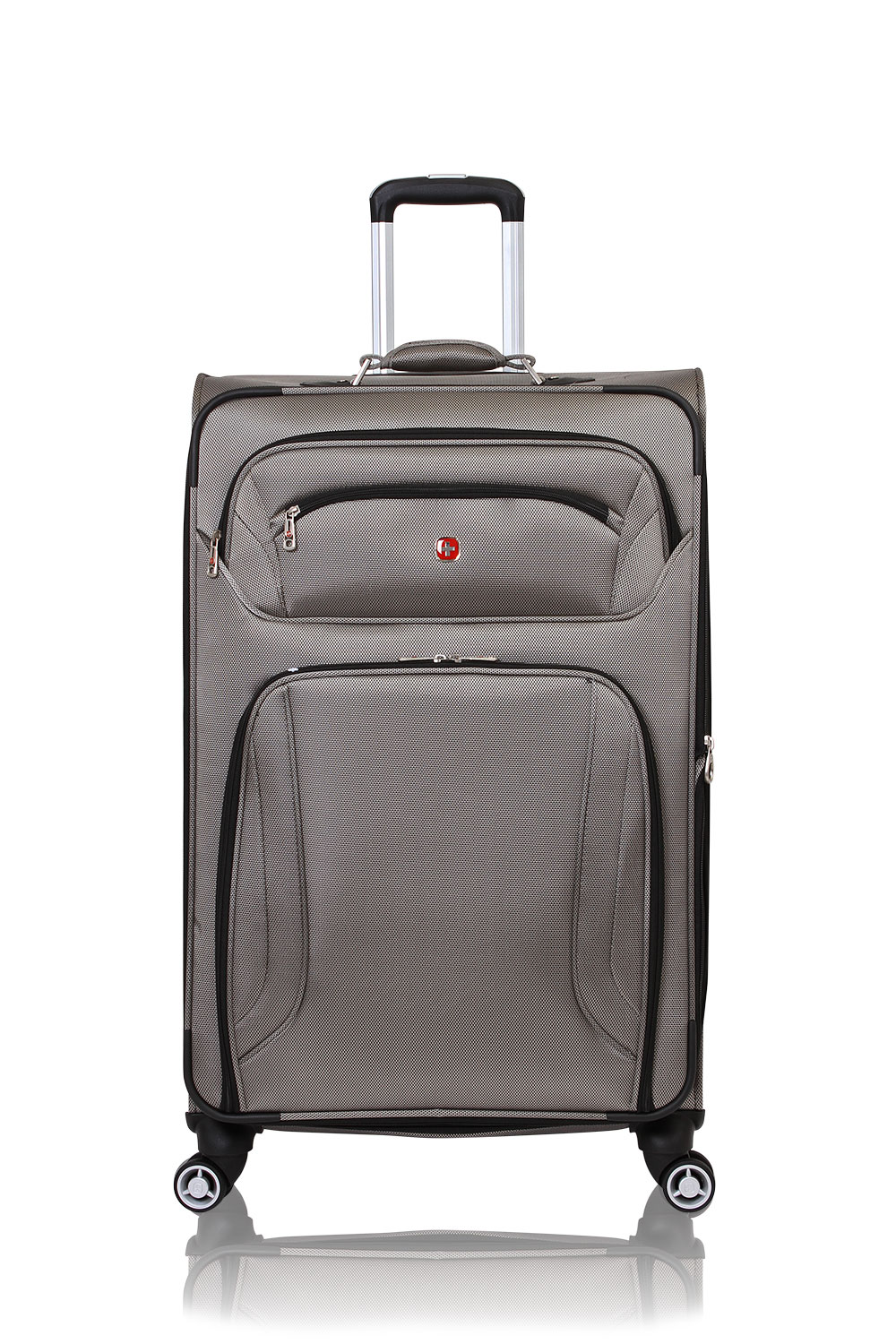 "SWISSGEAR 7895 29"" Expandable Deluxe Spinner - Pewter Luggage"