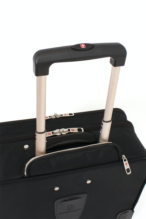 "SWISSGEAR 8869 17"" ROLLING TOTE HIDDEN TELESCOPING HANDLE SYSTEM"