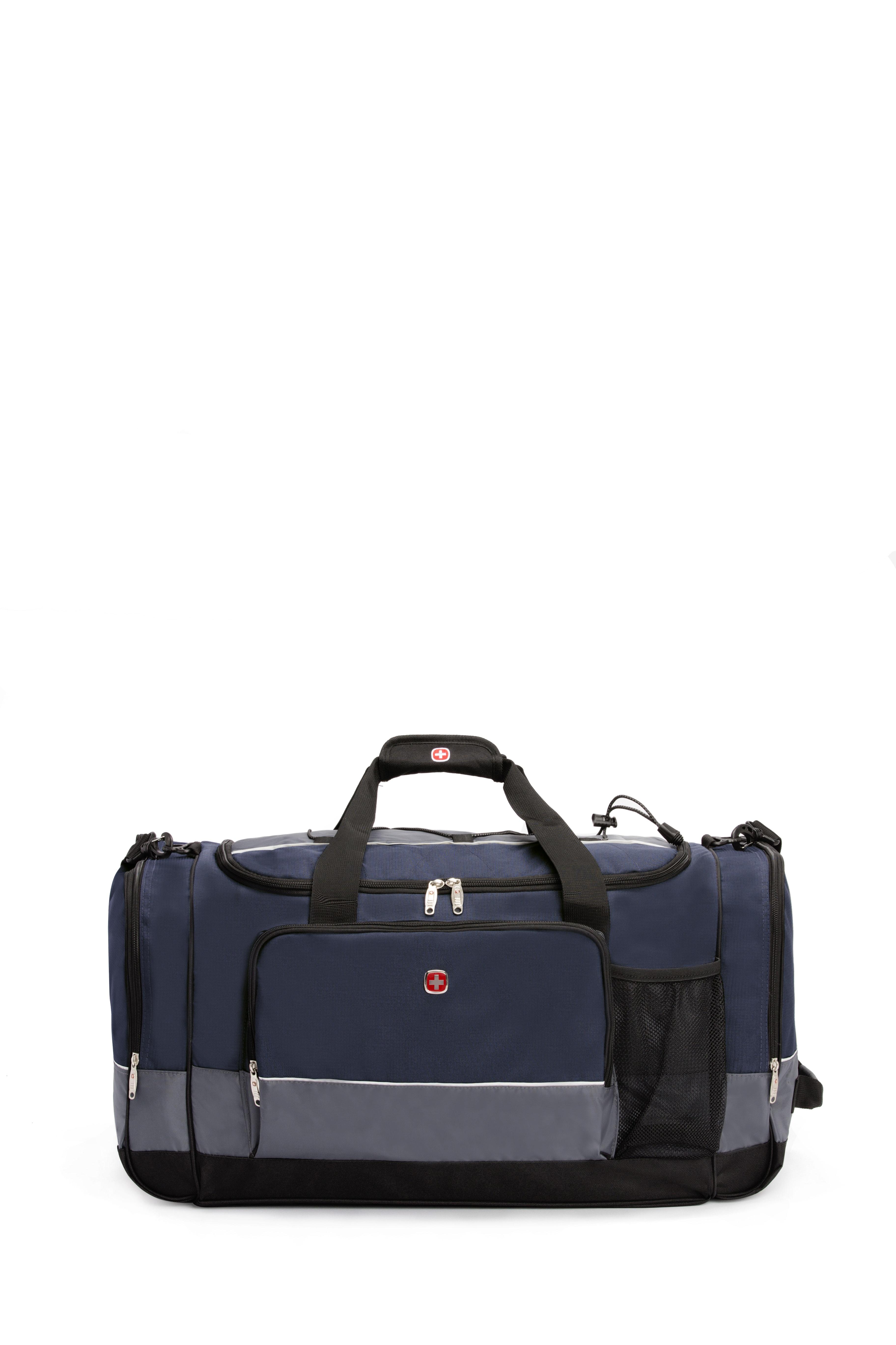 Mens and Womens SWISSGEAR 20 Duffel Bag Gym Bag Travel Duffle Bags Black