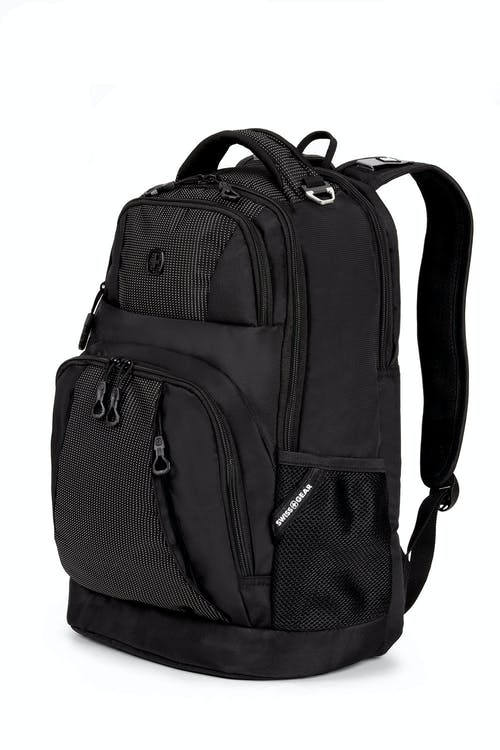 Swissgear 5698 Backpack - Black with White Dots
