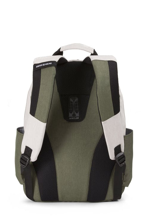 Swissgear 2789 Laptop Backpack Padded Airflow back panel