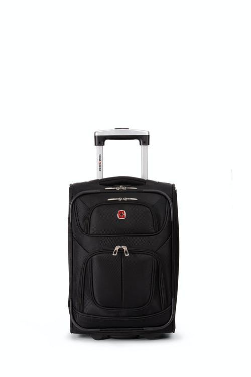 "Swissgear 6283 17"" 2 Wheel Luggage Two front zippered pockets"
