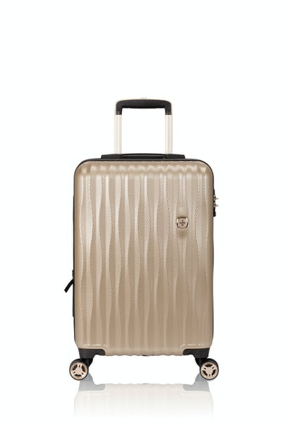 "Swissgear 7272 19"" Energie Hardside Luggage w/USB - Gold"