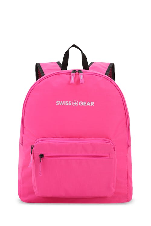 Swissgear 5675 Foldable Backpack Built in stow away pocket with external zip pocket