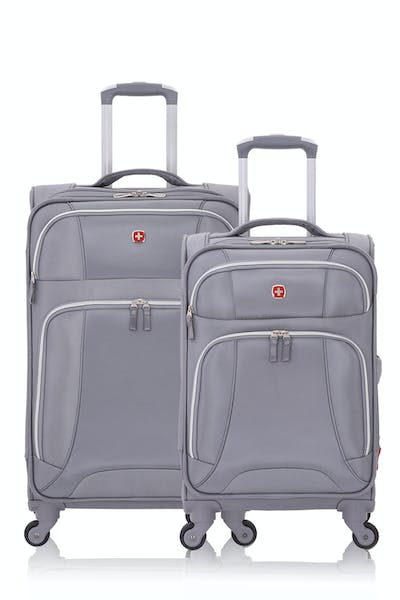 SWISSGEAR 7676 Expandable Liteweight Spinner Luggage 2pc Set