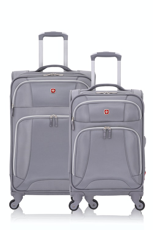 SWISSGEAR 7676 Expandable Spinner Luggage 2pc Set
