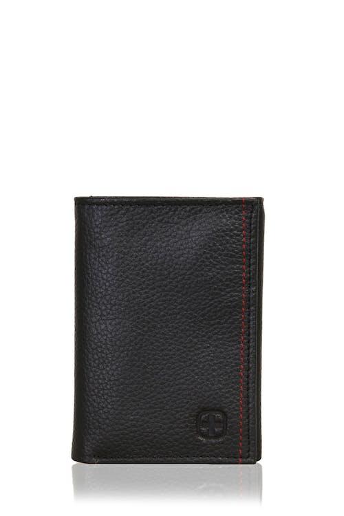 SWISSGEAR Bern Trifold Wallet - Black