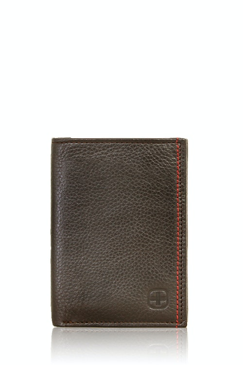 SWISSGEAR Bern Trifold Wallet - Brown