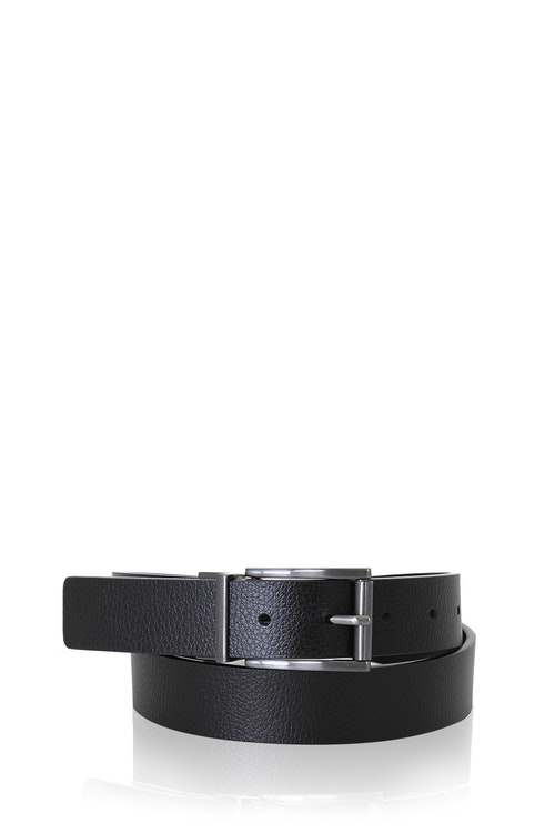 SWISSGEAR VILLARS BLACK-BROWN REVERSIBLE DRESS BELT