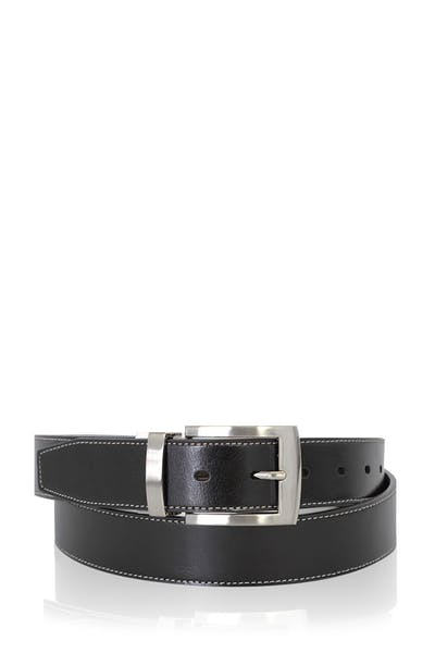 Swissgear Oberland Reversible Dress Belt - Black-Brown