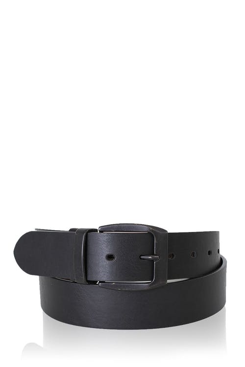 Swissgear Bern Reversible Leather Belt - Black Brown