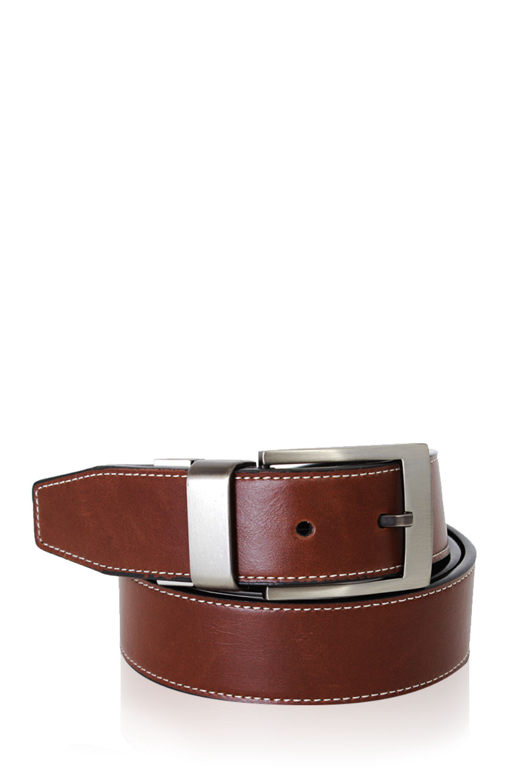 SWISSGEAR Wiler Black-Light Brown Reversible Belt